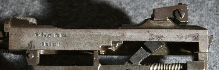 U S M1 Carbine Marked Railway Police Stuttgart M1